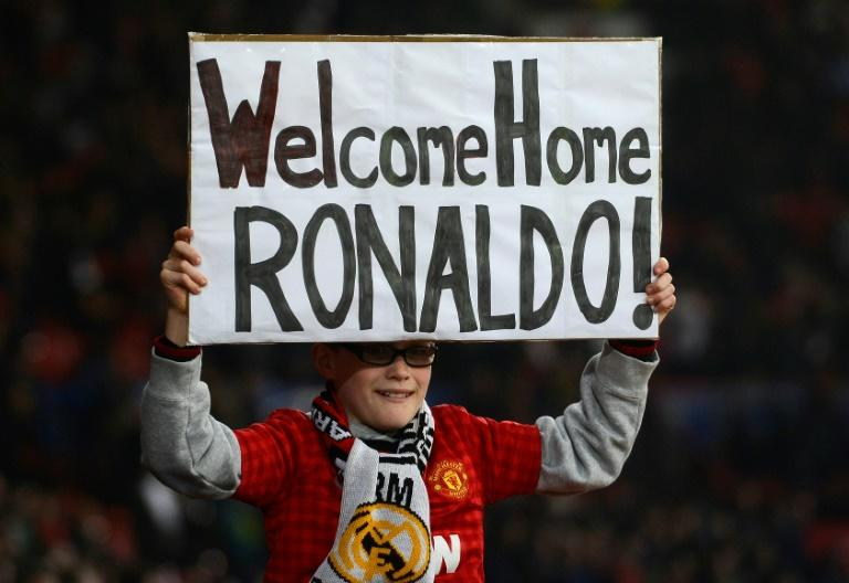 Cristiano Ronaldo got a hero's welcome when he returned to Old Trafford with Real Madrid in 2013