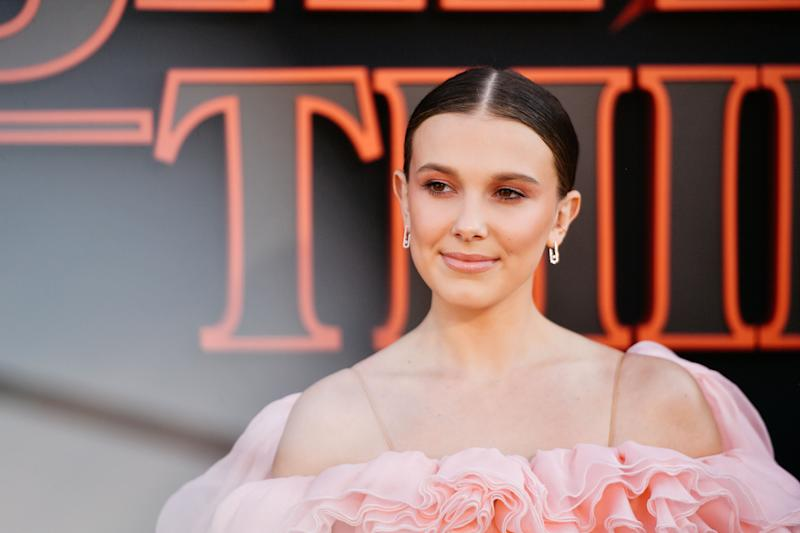 Millie Bobby Brown at Stranger Things Premiere
