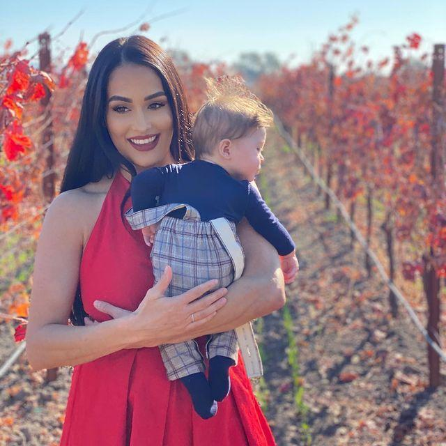 <p>The reigning <em>Dancing with the Stars</em> champion and pro dancer raved about his fiancé Nikki Bella and their son Matteo. </p>