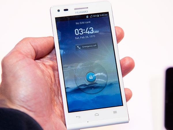 The new Huawei Ascend G6 4G smartphone. Also available in 3G only.