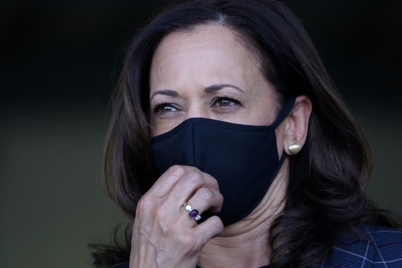 Kamala Harris pauses in-person campaigning after staffer diagnosed with COVID-19