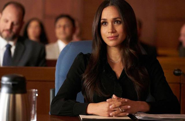 "In 2011, Meghan Markle took on the role of Rachel Zane in hit series ""Suits."" (Photo: Getty)"