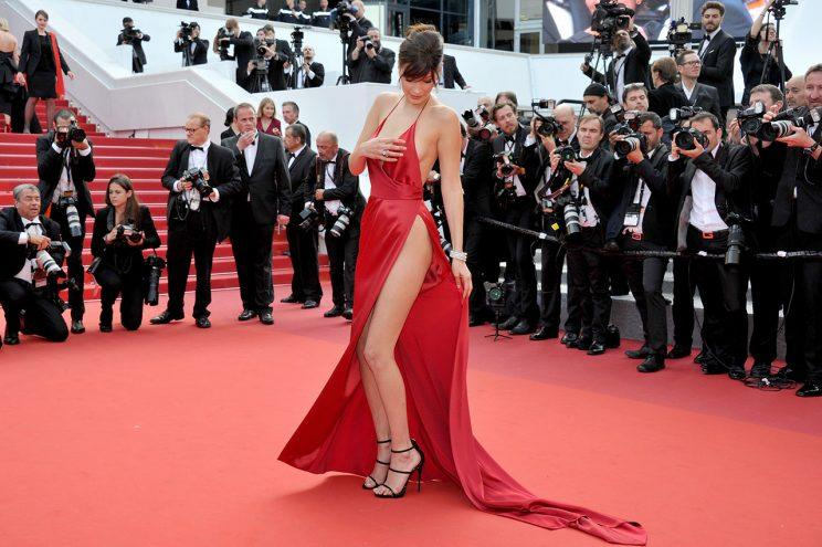 Bella Hadid & Hailey Baldwin Own the Carpet at Cannes Opening Night 2017