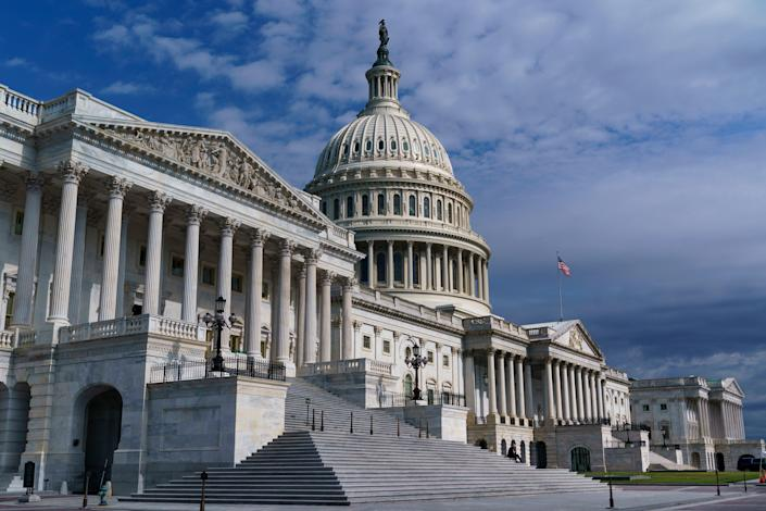 Congress Infrastructure Gimmicks (Copyright 2021 The Associated Press. All rights reserved)