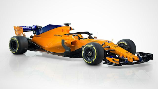"""Fernando Alonso said he is """"incredibly excited – but also apprehensive"""" after McLaren showed off their new-look car."""