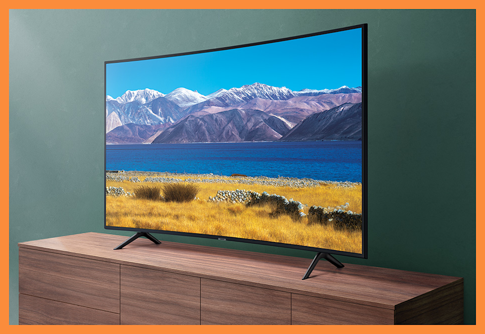 Get yourself some beautiful Curved 4K Crystal Ultra HD and head for the hills! (Photo: Samsung)