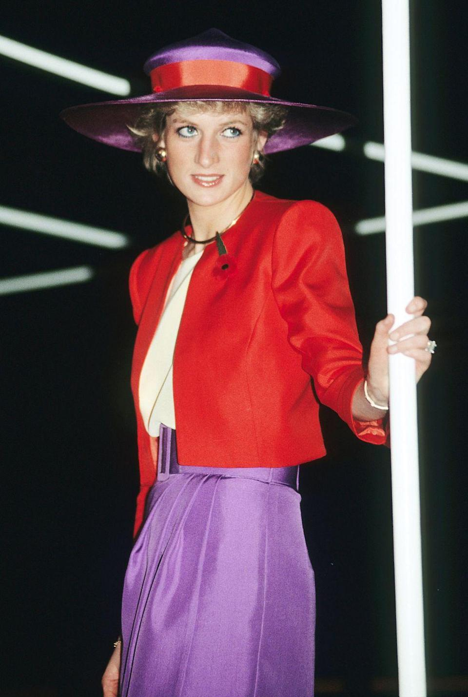 <p>Though many have tried, few have been able to match Princess Diana's matching hat and outfit game. During a visit to Hong Kong, her talent was on full display. <br></p>
