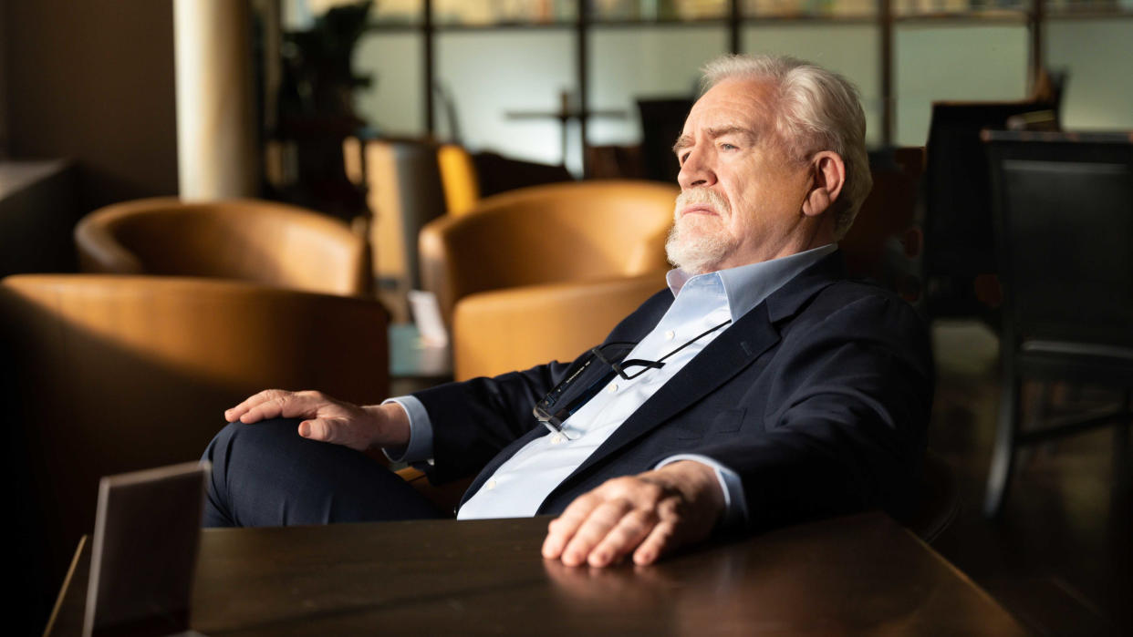Brian Cox returns as Logan Roy in the third season of 'Succession'. (David M. Russell/HBO/Sky)