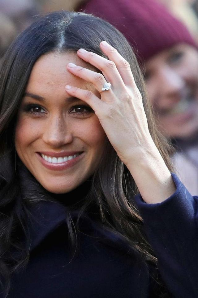 """""""Meghan has an almost perfectly shaped nose with a 98.5 percent score."""" (Photo: Getty)"""