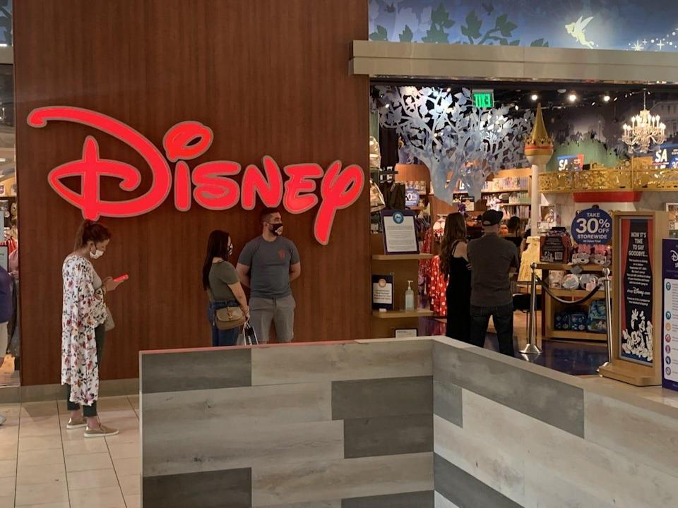 The Walt Disney Co. has been closing stores across the country.