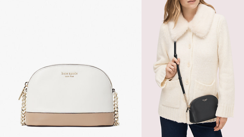 The dome design is a Kate Spade classic.