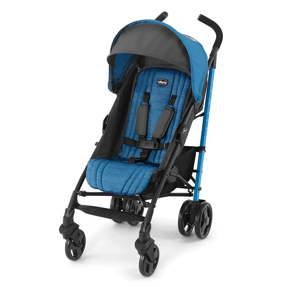 """<p>The <a rel=""""nofollow"""" href=""""https://www.popsugar.com/buy/Chicco%20Liteway%20Stroller-402543?p_name=Chicco%20Liteway%20Stroller&retailer=amazon.com&price=84&evar1=moms%3Aus&evar9=45974192&evar98=https%3A%2F%2Fwww.popsugar.com%2Ffamily%2Fphoto-gallery%2F45974192%2Fimage%2F45974200%2FChicco-Liteway-Stroller&list1=travel%2Cstrollers%2Cbaby%20shopping%2Cbest%20of%202019&prop13=mobile&pdata=1"""" rel=""""nofollow"""">Chicco Liteway Stroller</a> ($84) is 35 inches by 19 inches by 40 inches when unfolded.</p>"""