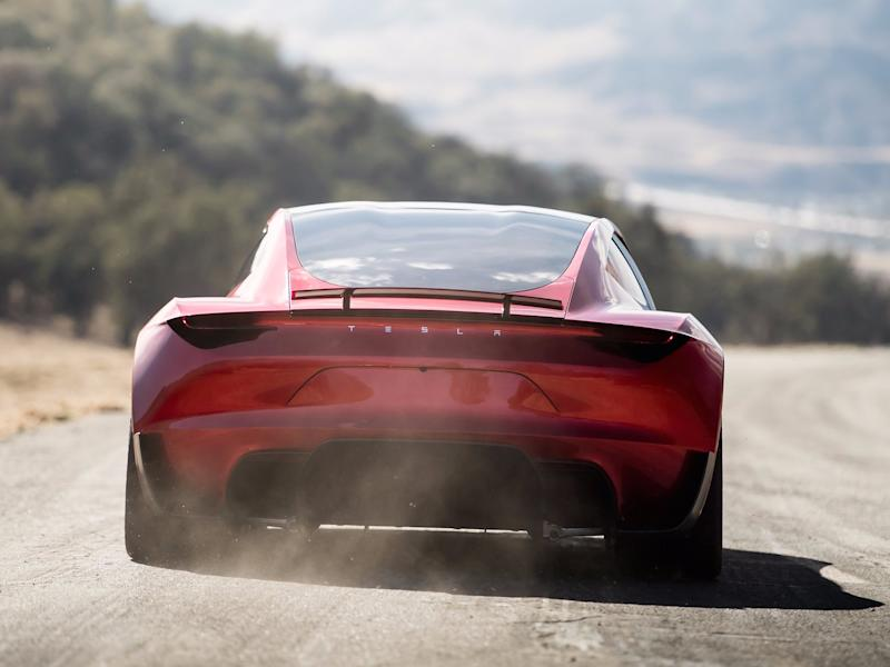 Tesla Roadster Rear