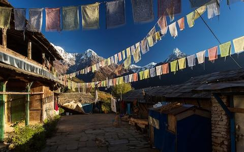 Annapurna Foothills of Nepal - Credit: Getty