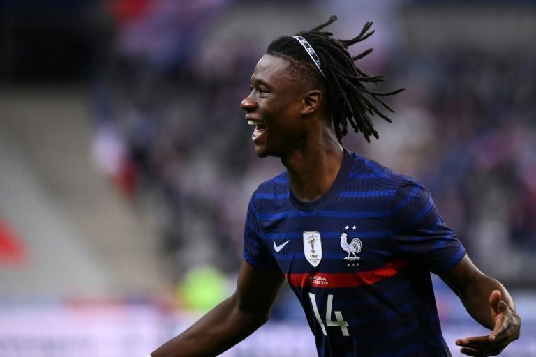 Camavinga became France's youngest goal-scorer in over a century when he found the net against Ukraine last month