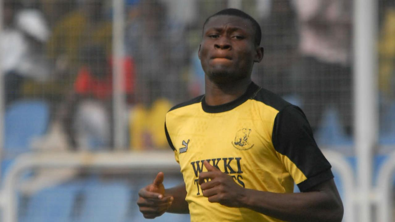 The striker has bagged nine goals for the Anambra Warriors this term, and is hoping to be among the players that make Nigeria squad