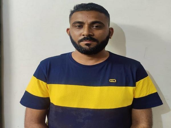 Accused Ashish Ahuja involved in illegal online betting (Photo/ANI)