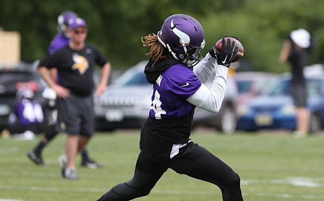 Minnesota Vikings wide receiver Cordarrelle Patterson could be a veteran that would interest Gang Green