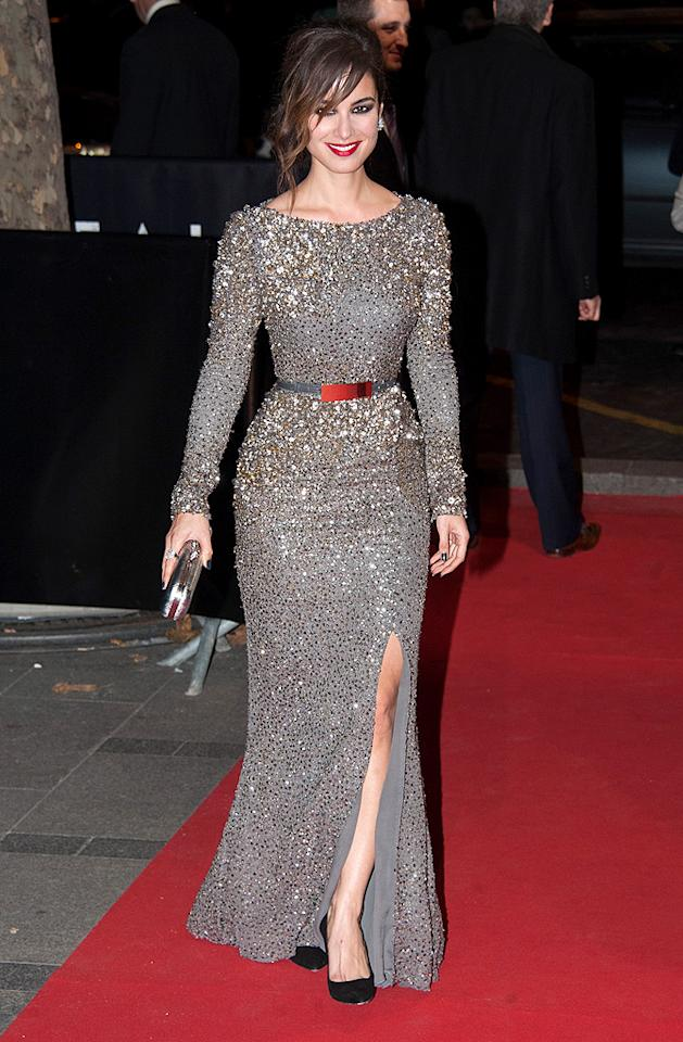 PARIS, FRANCE - OCTOBER 24:  Berenice Marlohe arrives at the Paris Premiere of the new James Bond film 'Skyfall' at Cinema UGC Normandie on October 24, 2012 in Paris, France.  (Photo by Francois Durand/Getty Images)
