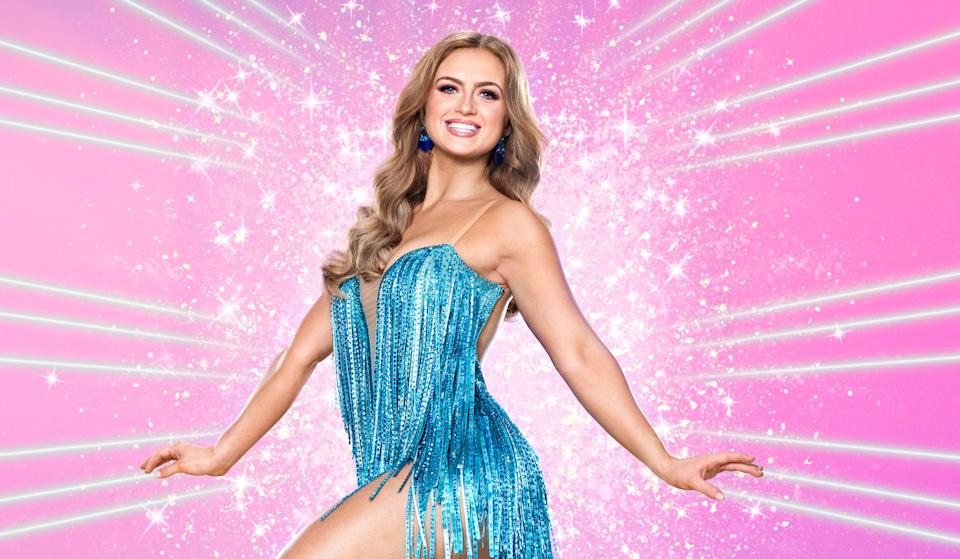Maisie Smith is one of the favourites on this year's Strictly. (BBC)