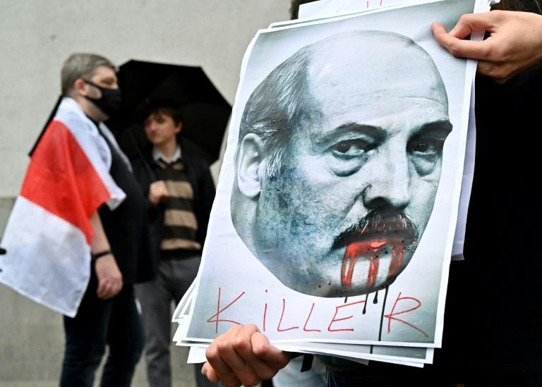 Belarus strongman Alexander Lukashenko has been cracking down on any form of dissent since mass protests erupted after last year's elections