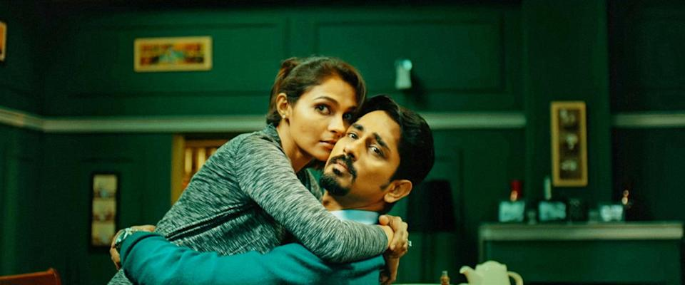 """<p>In the Indian horror film <strong>The House Next Door</strong>, a new family moves into a young couple's neighborhood and completely changes their lives . . . for the worse. </p> <p>Watch <a href=""""http://www.netflix.com/title/80233024"""" class=""""link rapid-noclick-resp"""" rel=""""nofollow noopener"""" target=""""_blank"""" data-ylk=""""slk:The House Next Door""""><strong>The House Next Door</strong></a> on Netflix now.</p>"""
