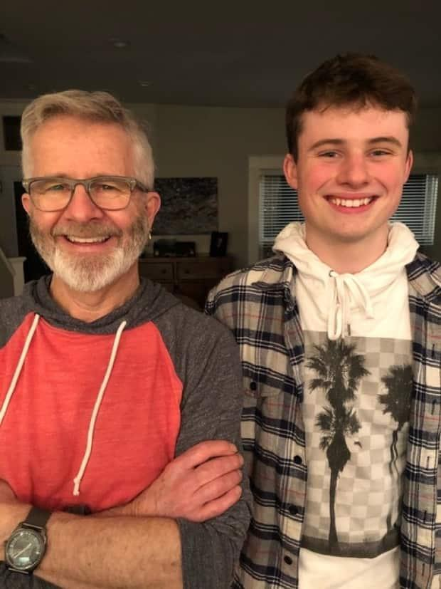Donnie and Rowan Norrad, of Halifax, have been hunting fossils for years at their family cottage in the Grand Lake area of New Brunswick.