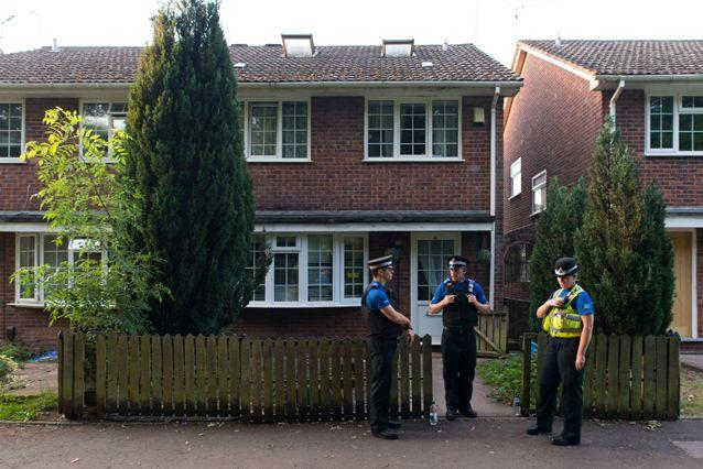 Osborne's house in Cardiff was raided soon after the attack in the early hours of Monday morning. Source: Getty