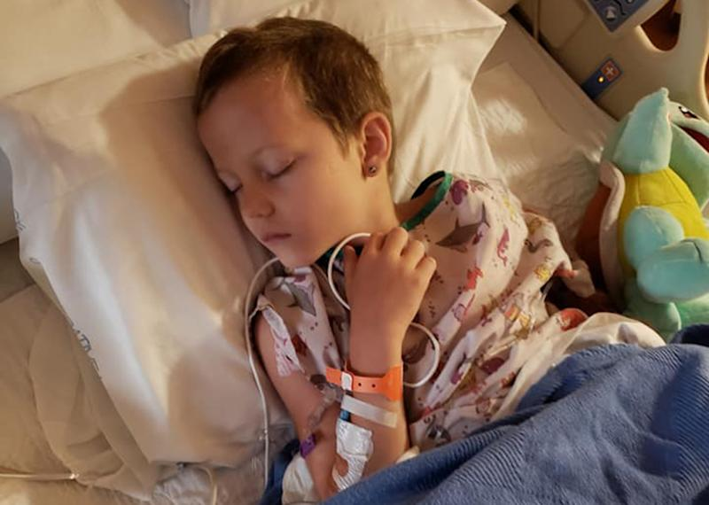 Waynesville, North Carolina boy Noah Surrett almost died after a mosquito bite virus La Crosse encephalitis.