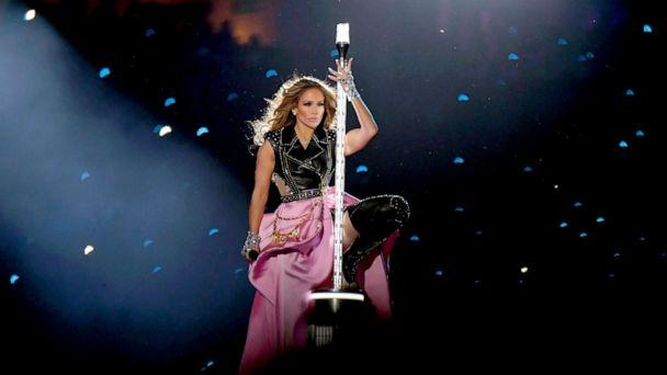 PHOTO: Jennifer Lopez performs onstage during the Pepsi Super Bowl LIV Halftime Show at Hard Rock Stadium on Feb. 02, 2020, in Miami. (Kevin Winter/Getty Images)