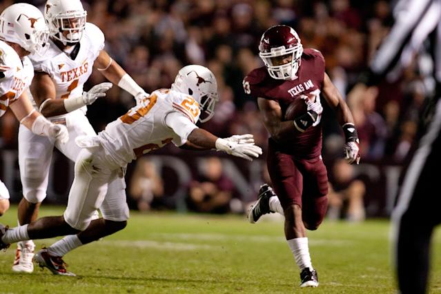 The Aggies and Longhorns haven't played since 2011. (Getty)