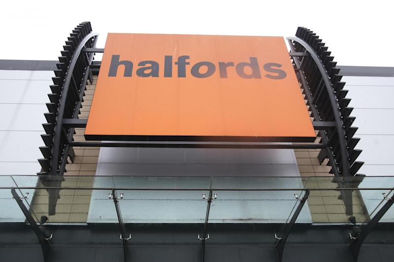 Check up: Halfords is extending the scheme after a trial in Crawley: PA