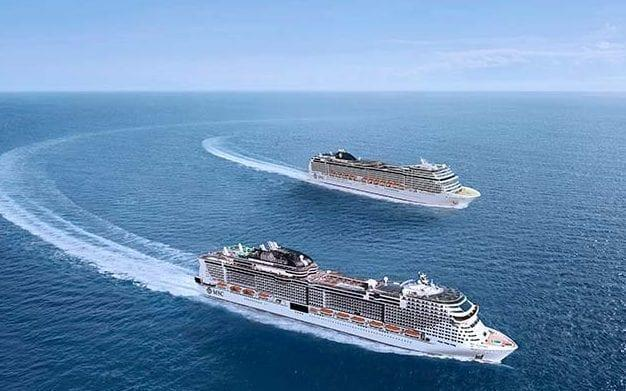 Both MSC Grandiosa and MSC Magnifica sailed from Italy in summer 2020