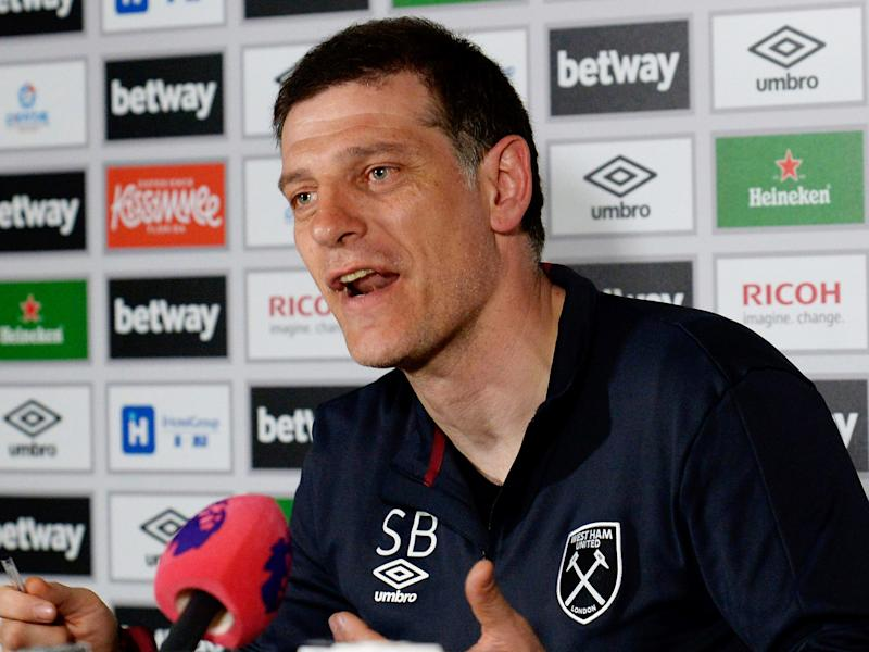 Bilic is under pressure with West Ham losing their last five games: Getty