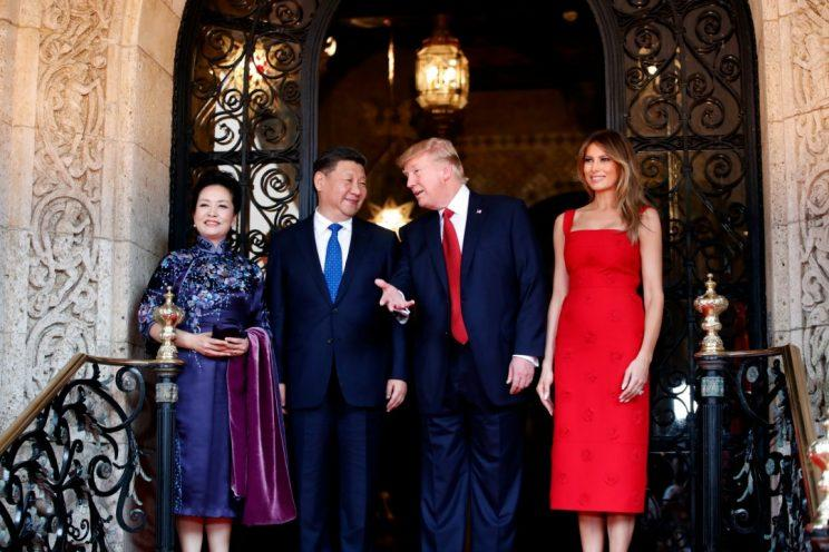 donald trump chinese president