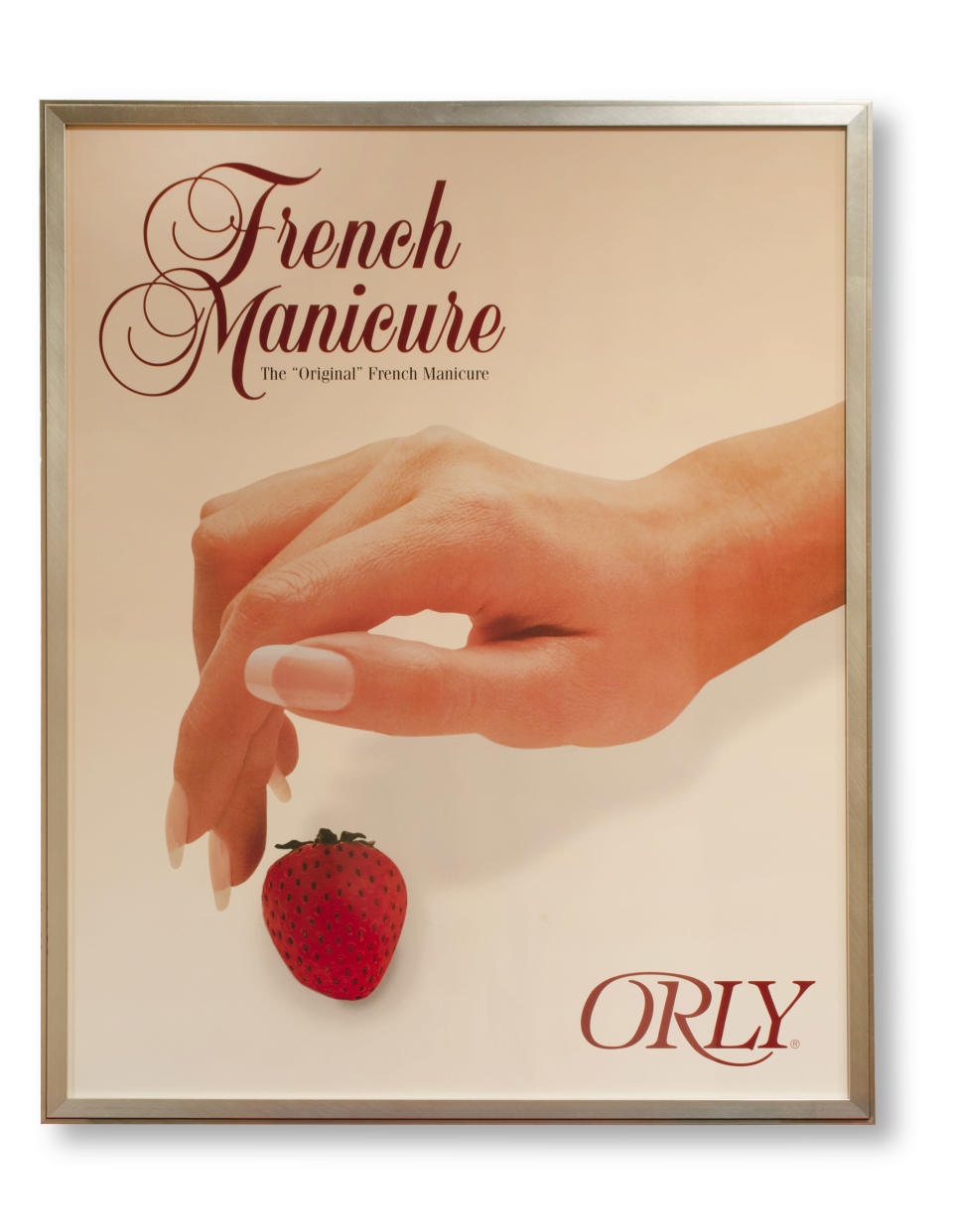 Vintage poster of the Original French Manicure by ORLY