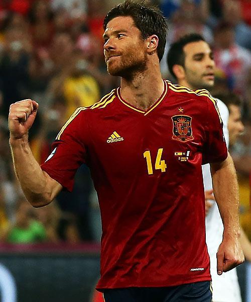 Xabi Alonso. Getty Images