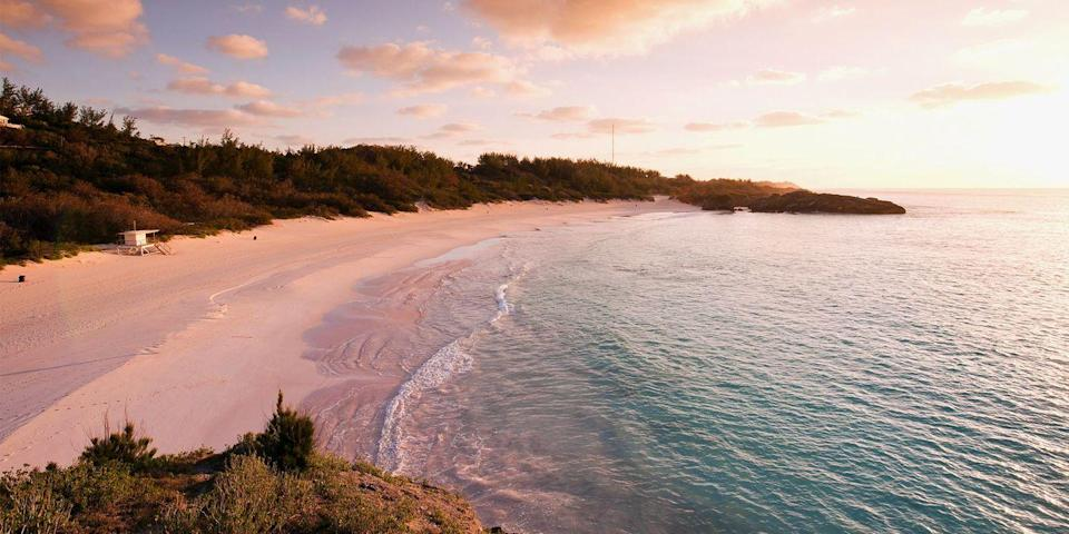 """<p>One of the world's most beautiful islands is also one of the closest (for East Coasters, that is). <span class=""""redactor-unlink"""">Bermuda</span>, famed for its pink-sand beaches like <a href=""""https://go.redirectingat.com?id=74968X1596630&url=https%3A%2F%2Fwww.tripadvisor.com%2FAttraction_Review-g147261-d147919-Reviews-Horseshoe_Bay_Beach-Southampton_Parish_Bermuda.html&sref=https%3A%2F%2Fwww.redbookmag.com%2Flife%2Fg36983737%2Fmost-beautiful-islands-in-the-world%2F"""" rel=""""nofollow noopener"""" target=""""_blank"""" data-ylk=""""slk:Horseshoe Bay"""" class=""""link rapid-noclick-resp"""">Horseshoe Bay</a>, is just 650 miles off the coast of North Carolina, so you can be sipping Dark and Stormys in no time.</p>"""