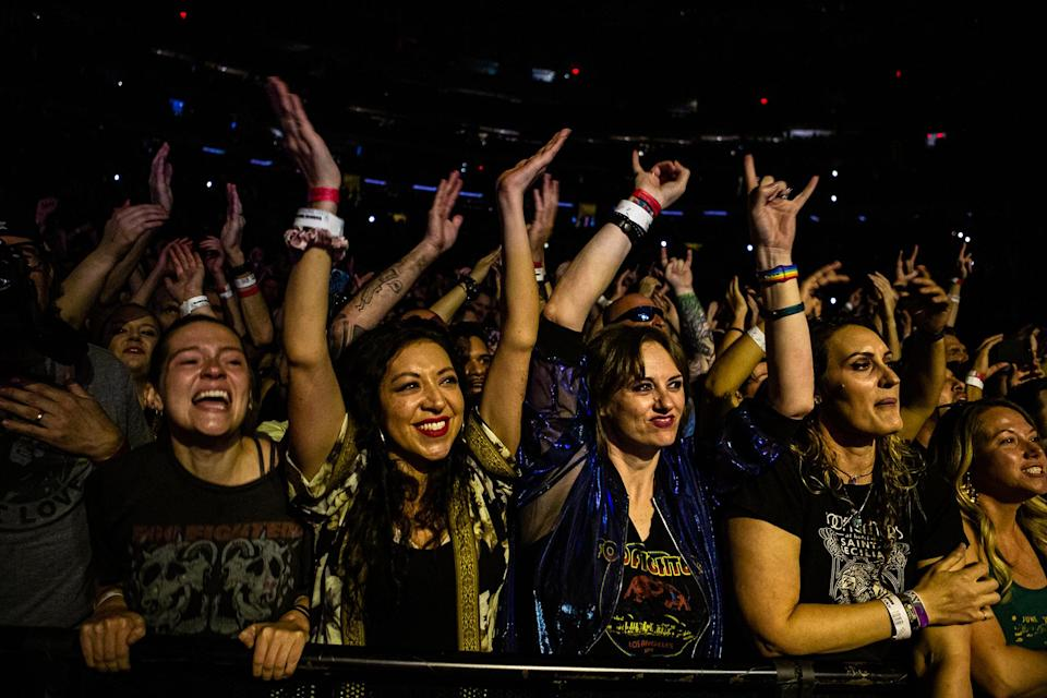 foo-fighters-fans - Credit: Griffin Lotz for Rolling Stone