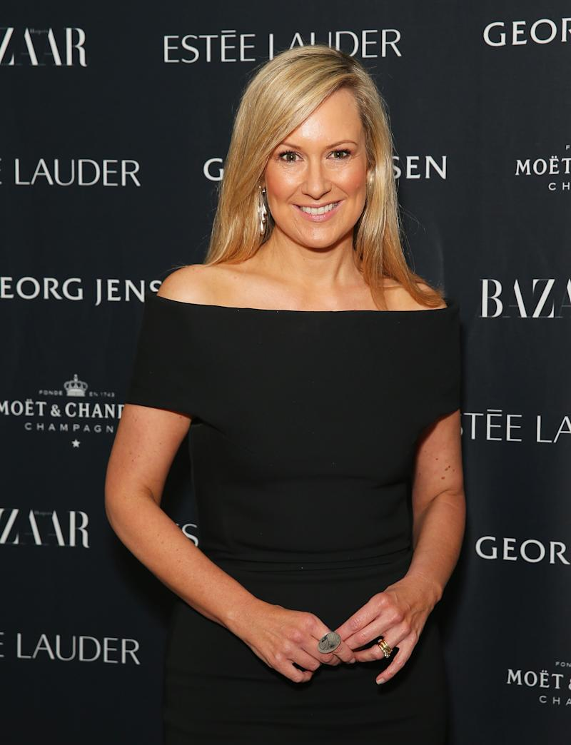 SYDNEY, AUSTRALIA - JULY 05: Melissa Doyle arrives ahead of the Harper's Bazaar - Fabulous At Every Age event at Missy French on July 5, 2016 in Sydney, Australia. (Photo by Don Arnold/WireImage)
