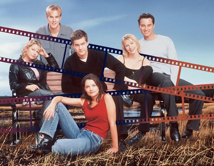 Katie Holmes Wore the Best Pair of Jeans — As Joey Potter On Dawson's Creek