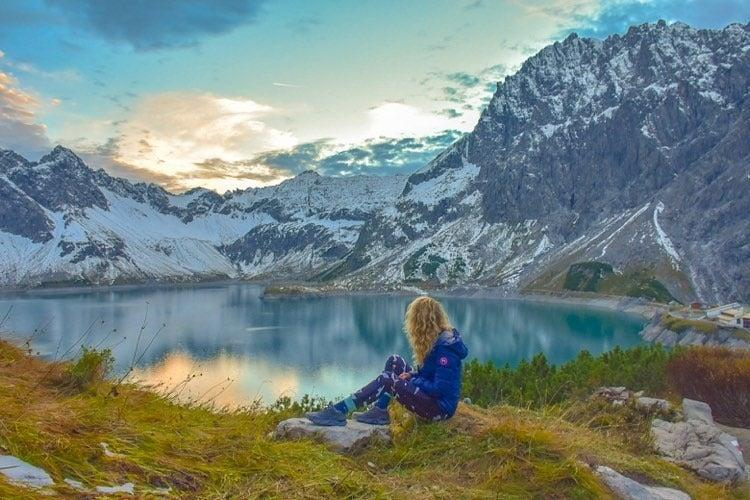 <p>The hike through Austria was worth the last-minute arrangements</p> (Sadie Whitelock)
