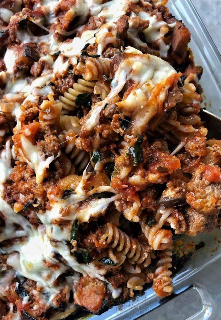 Pasta with meat sauce<br>Credit: Cameron Rogers