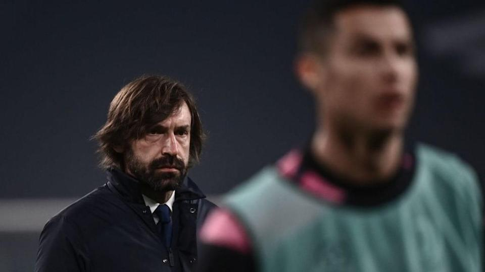 Pirlo e CR7 | MARCO BERTORELLO/Getty Images