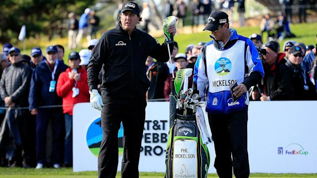 Phil Mickelson won the AT&T; Pebble Beach Pro-Am Monday for his fifth career win in the event and 44th overall on the PGA Tour. Here's a look inside of his bag.