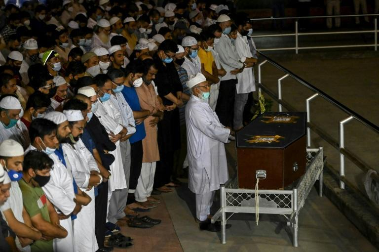 Hundreds of people joined in final prayers for slain Pulitzer-prize winning photographer Danish Siddiqui at his alma mater, Jamia Millia Islamia university, in Delhi