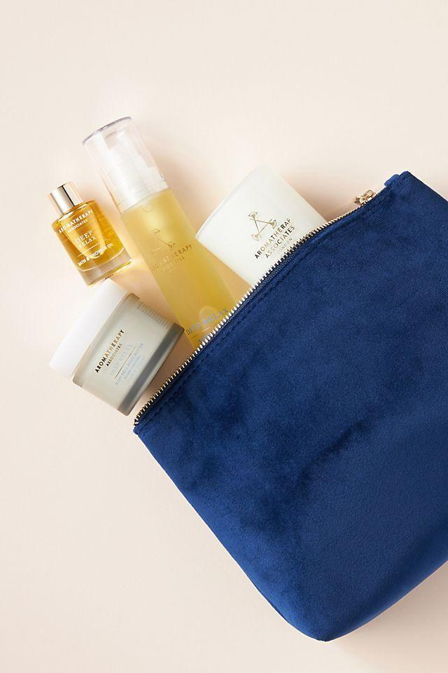 """<p><strong>Aromatherapy Associates</strong></p><p>anthropologie.com</p><p><strong>$75.00</strong></p><p><a href=""""https://go.redirectingat.com?id=74968X1596630&url=https%3A%2F%2Fwww.anthropologie.com%2Fshop%2Faromatherapy-associates-moment-of-restful-sleep-gift-set&sref=https%3A%2F%2Fwww.countryliving.com%2Fshopping%2Fgifts%2Fg19663932%2Fmothers-day-gift-baskets%2F"""" rel=""""nofollow noopener"""" target=""""_blank"""" data-ylk=""""slk:Shop Now"""" class=""""link rapid-noclick-resp"""">Shop Now</a></p><p>#1 request on most mom's gift list is more sleep! Help her get restful sleep with this aromatherapy gift set. </p>"""
