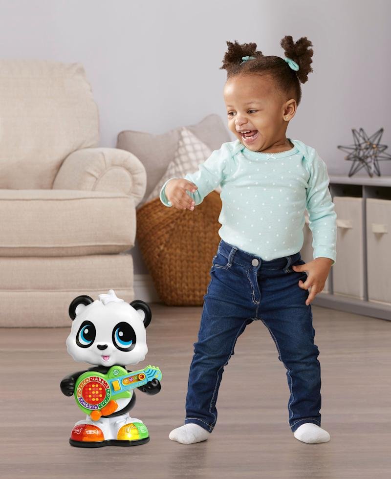 LeapFrog® expands its infant and preschool collection with new learning toys, such as the Learn & Groove® Dancing Panda™.