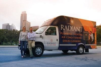 Austin-based Radiant Plumbing and Air Conditioning, owned by Brad and Sarah Casebier, has placed on the Inc. 5000 for the second year in a row.