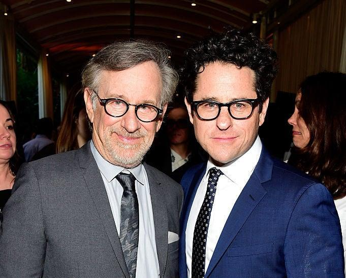 Spielberg and Abrams at an event together